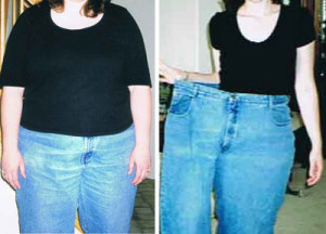 Before and After using Garcinica Cambogia
