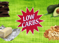 Four foods that are low carbs safe