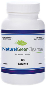 Natural Green Cleanse bottle